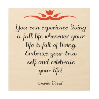 Celebrate Your Life 3 Wood Wall Art
