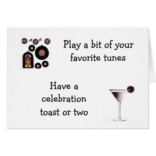 CELEBRATE YOUR WAY MUTUAL BIRTHDAY CARD