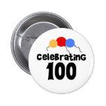 Celebrating 100 pin