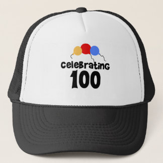 Celebrating 100  trucker hat