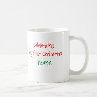 Celebrating 1st Christmas Home Mugs