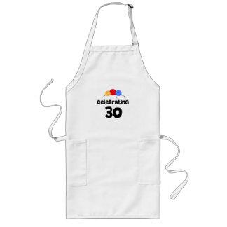 Celebrating 30 apron