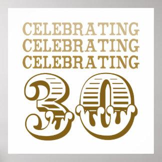 Celebrating 30! (Birthday Party) Poster