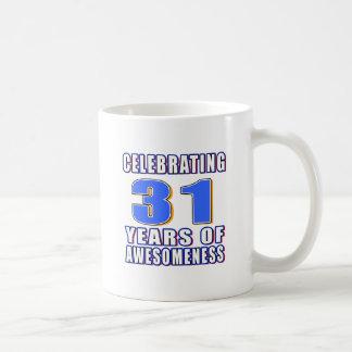 Celebrating 31 years of awesomenes mugs