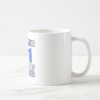 Celebrating 31 years of awesomenes coffee mugs