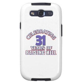 Celebrating 31 years of raising hell samsung galaxy s3 case