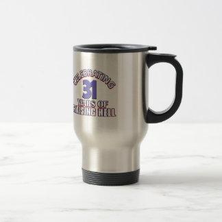 Celebrating 31 years of raising hell mugs