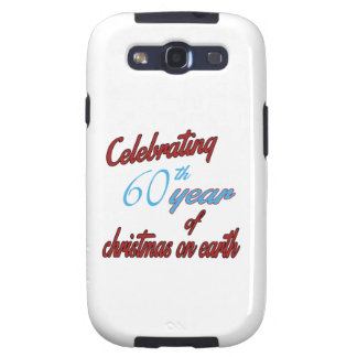 Celebrating 60th year of christmas on earth samsung galaxy s3 cover
