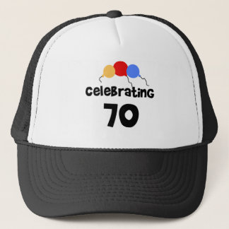 Celebrating 70 trucker hat