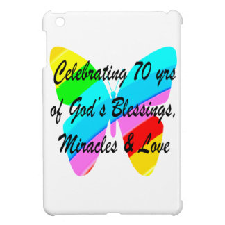 CELEBRATING 70TH BIRTHDAY BUTTERFLY DESIGN CASE FOR THE iPad MINI