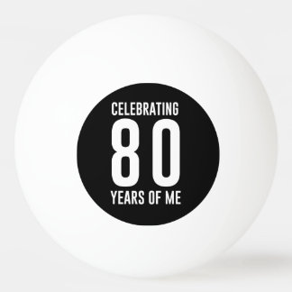 Celebrating 80 Years of Me Ping Pong Ball