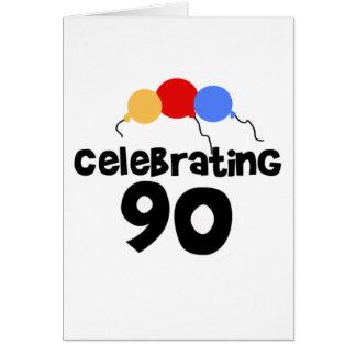 Celebrating 90 cards