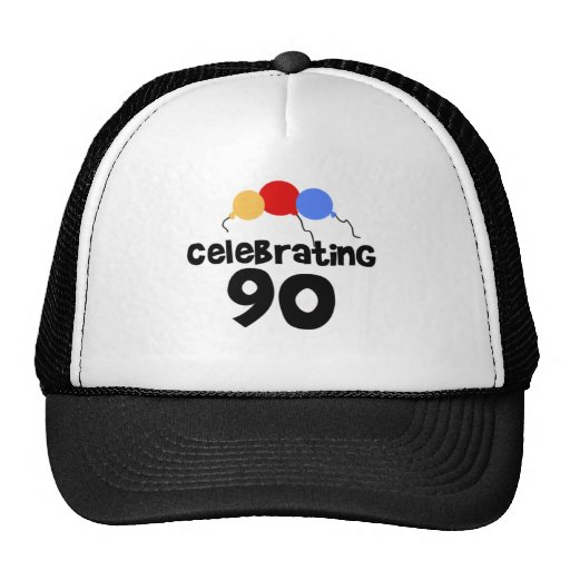 Celebrating 90 mesh hats