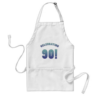 Celebrating 90th Birthday Standard Apron