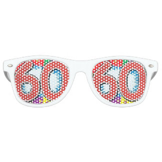 celebrating birthday  60th retro sunglasses