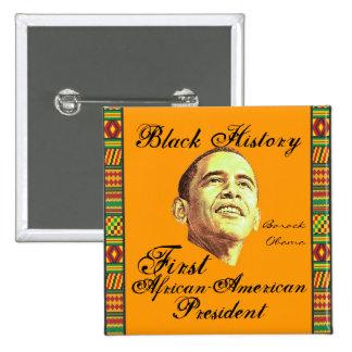 Celebrating Black History 15 Cm Square Badge