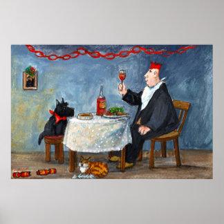 Celebrating Christmas. Poster