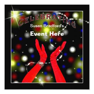 CELEBRATING - INVITATION MULTI PURPOSE - stars