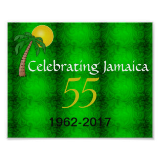 Celebrating Jamaica 55th Poster
