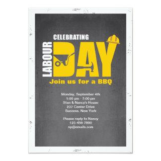 Celebrating Labor Day Invitation