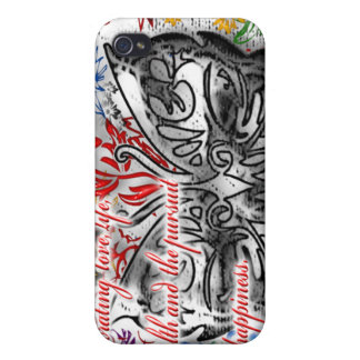 Celebrating Love, Life, Health and the Pursuit of  Case For The iPhone 4