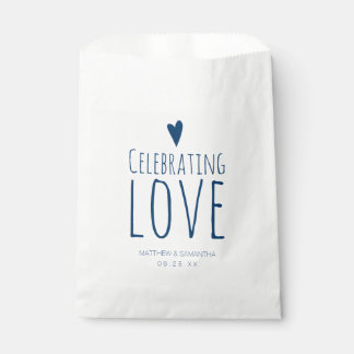 Celebrating Love Wedding Candy Bar Buffet Favour Bags