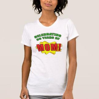 Celebrating Mom s 30th Birthday Shirts