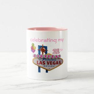 celebrating my 21St Birthday Las Vegas Mug