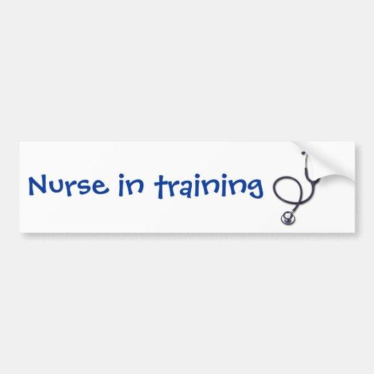Celebrating nursing and medicine bumper sticker