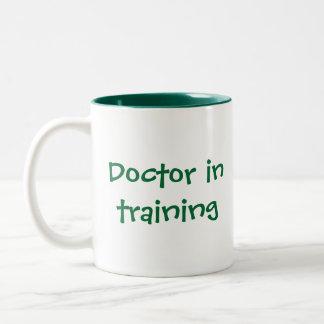 Celebrating nursing and medicine Two-Tone mug