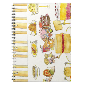 Celebrating Pudding Diversity Funny Quirky Art Notebooks