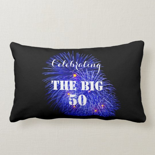 Celebrating THE BIG 50 - Lumbar Pillow