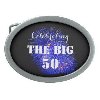 Celebrating THE BIG 50 - Oval Belt Buckles