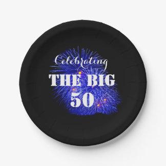 Celebrating THE BIG 50 - Paper Plate