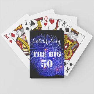 Celebrating THE BIG 50 - Playing Cards
