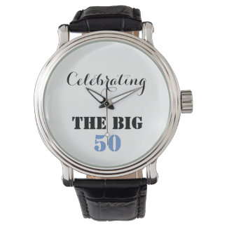 Celebrating THE BIG 50 - Wristwatch