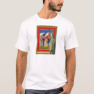 Celebrating the Fourth of July T-Shirt