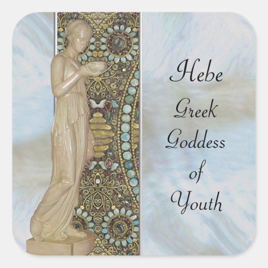 Celebrating the Goddess Square Sticker