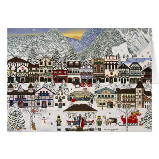 Celebrating the Holidays in Leavenworth Card