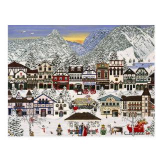 Celebrating the Holidays in Leavenworth Postcard