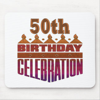 Celebration 50th Birthday Gifts Mousepad