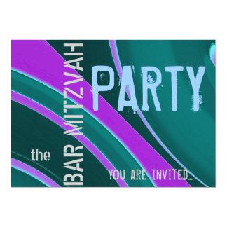 Celebration Bar Mitzvah party 11 Cm X 16 Cm Invitation Card