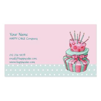 Celebration Cake Business Card