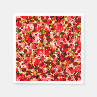 Celebration Dots 6-PAPER PARTY NAPKINS Disposable Napkin