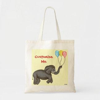 Celebration Elephant. Canvas Bags