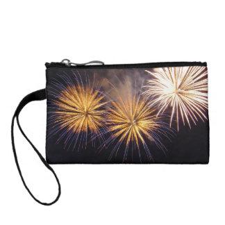 Celebration firework change purse
