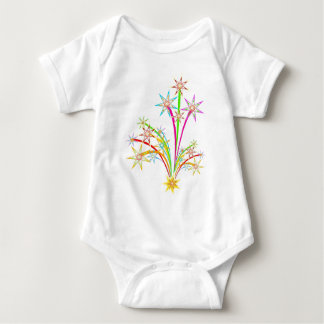 Celebration fireworks baby bodysuit