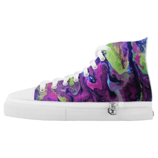 Celebration Hi-Tops - Purple Lovers