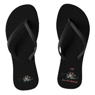 Celebration Of Divine Expression (CODE) Slippers Flip Flops