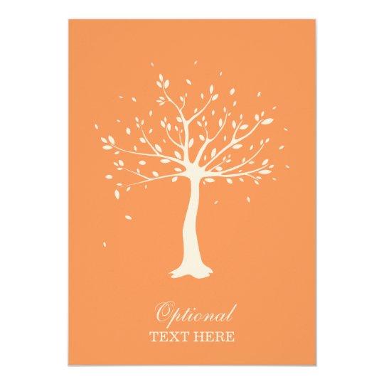 Celebration of Life - Elegant Tree Motif Card
